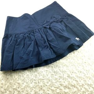 Abercrombie & Fitch Navy Pleated Skirt Sz 4
